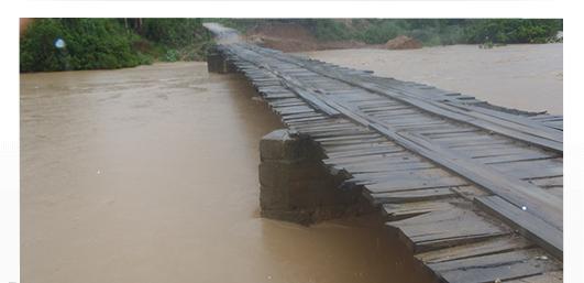 Nível do Rio Cricaré sobe mais de 2 metros em 48 horas